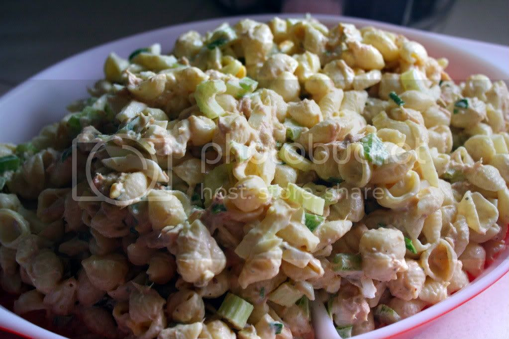 tuna noodle mac salad