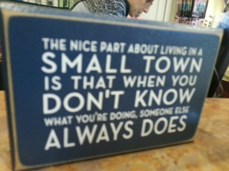 Quotes About Town Life 58 Quotes