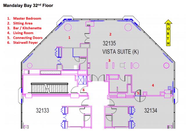 Bedroom Suites Mandalay Bay 2 Bedroom Suite Floor Plan