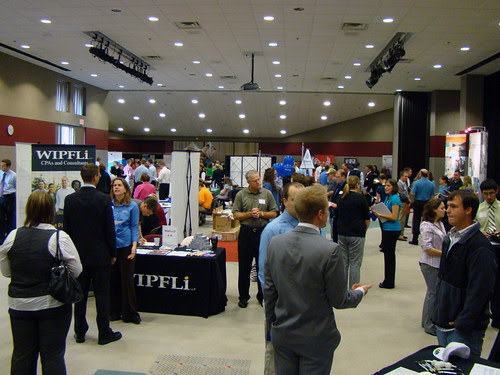 Flickr: uwgb admissions - Job & Internship Fair at UWGB