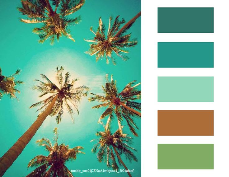 Palm Trees #color #inspiration