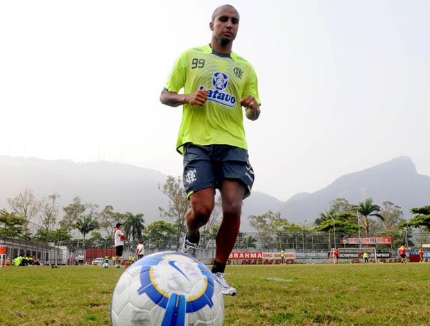 Deivid, treino Flamengo