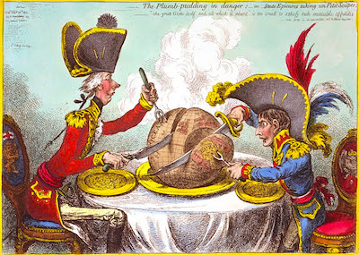 The Plumb-pudding in Danger