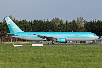 Nordwind Airlines Boeing 767-3G5 ER VP-BOY (msn 29435) SNN (Malcolm Nason). Image: 912356.