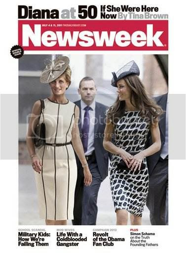 Princess Diana vs Kate Middleton on Newsweek