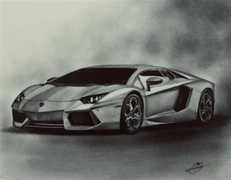 car drawing artist models pinterest lamborghini
