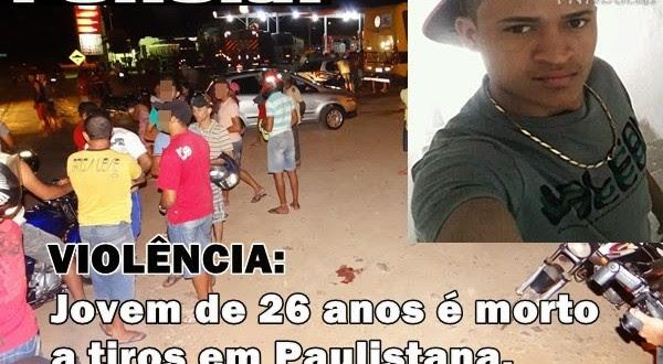 VIOLÊNCIA | Jovem de 26 anos é assassinado a tiros em Paulistana. Veja!