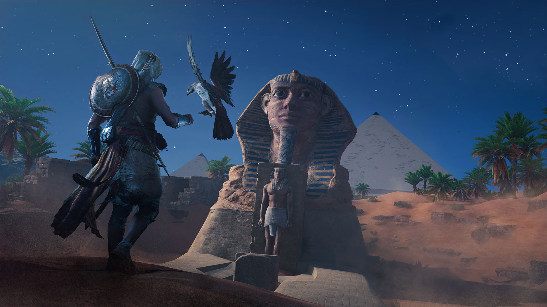 Assassin's Creed: Origins won't fail your mission upon detection screenshot