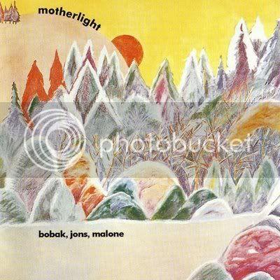 Bobak Jons Malone - Motherlight