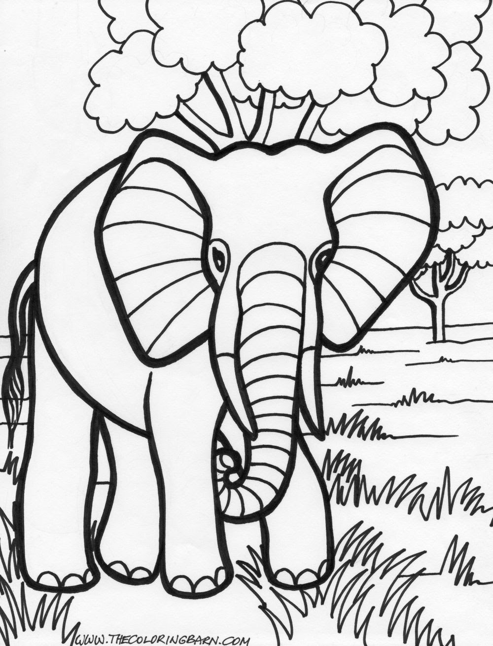 Elephant Abstract Doodle Zentangle Paisley Coloring pages ... | 1310x1000