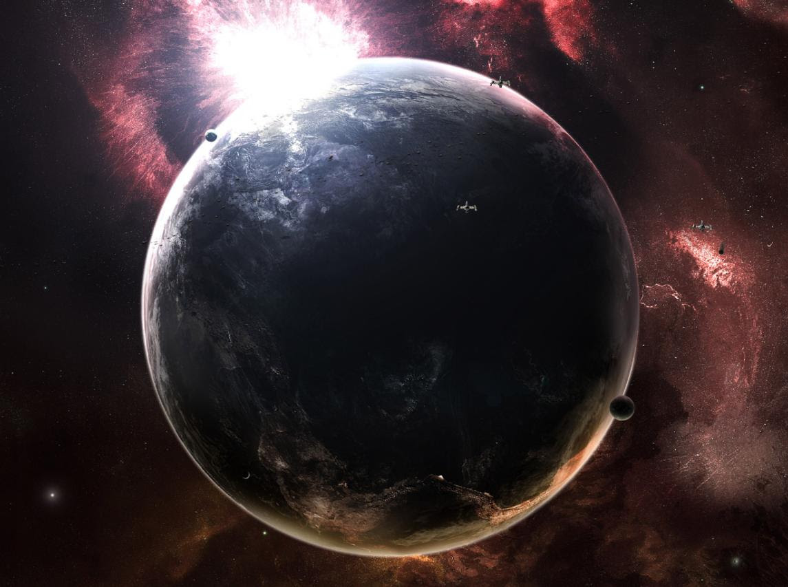 Outer Space Animated Screensavers