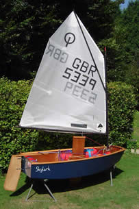 Burcot Boats Optimist Kit
