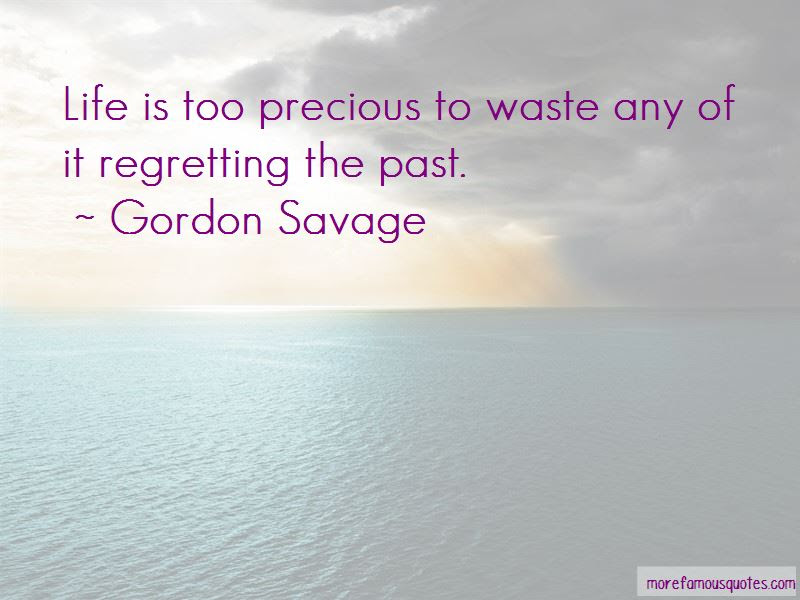 Gordon Savage Quotes Top 1 Famous Quotes By Gordon Savage