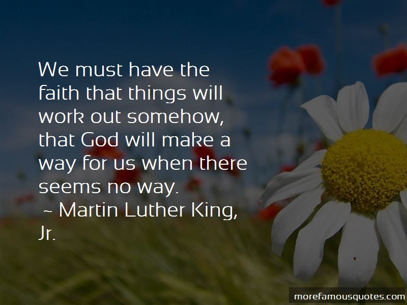Quotes About God Will Make A Way Top 47 God Will Make A Way Quotes