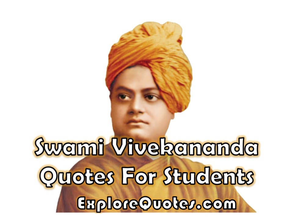 Swami Vivekananda Quotes For Students Youth Quotation On Education