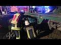 Schwerer Unfall auf dem Kaphofweg in Hückelhoven