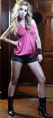 Natalia Tetamen Shorts Con Botines