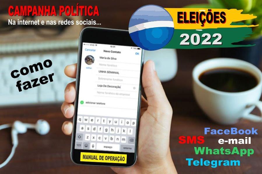 Resultado de imagem para whatsapp campanha eleitoral