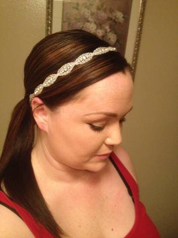 Headband vs Flower Need OPINIONS PLEASE wedding headpieces ivory