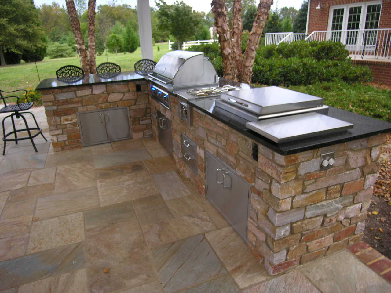 Rustic Outdoor Kitchen Ideas