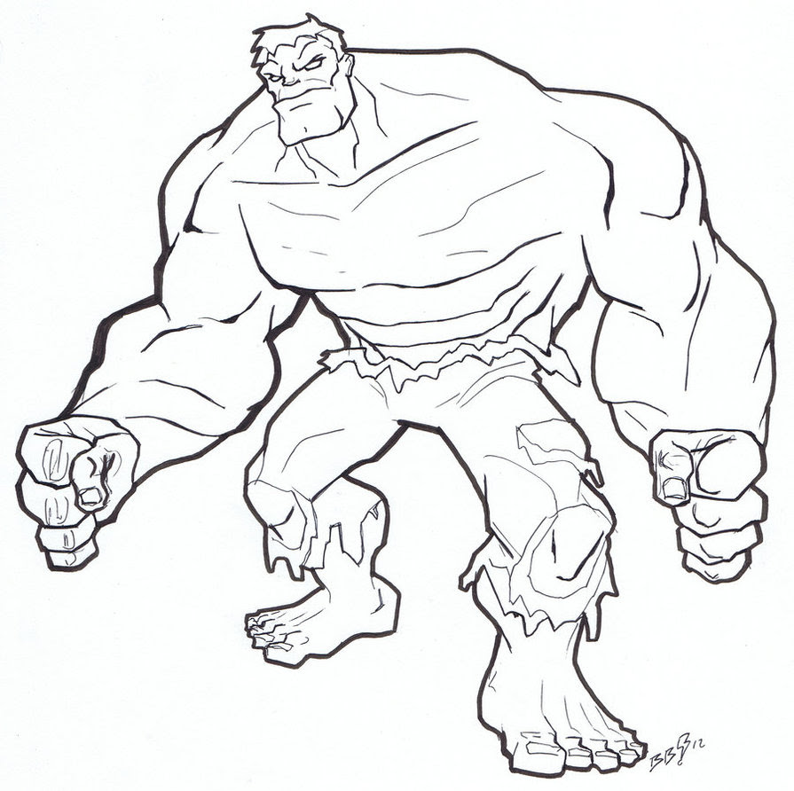 Hulk Smash Coloring Pages At Getdrawingscom Free For Personal Use