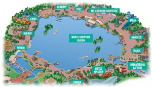 Epcot World Showcase Map World Showcase Map | Gadgets 2018