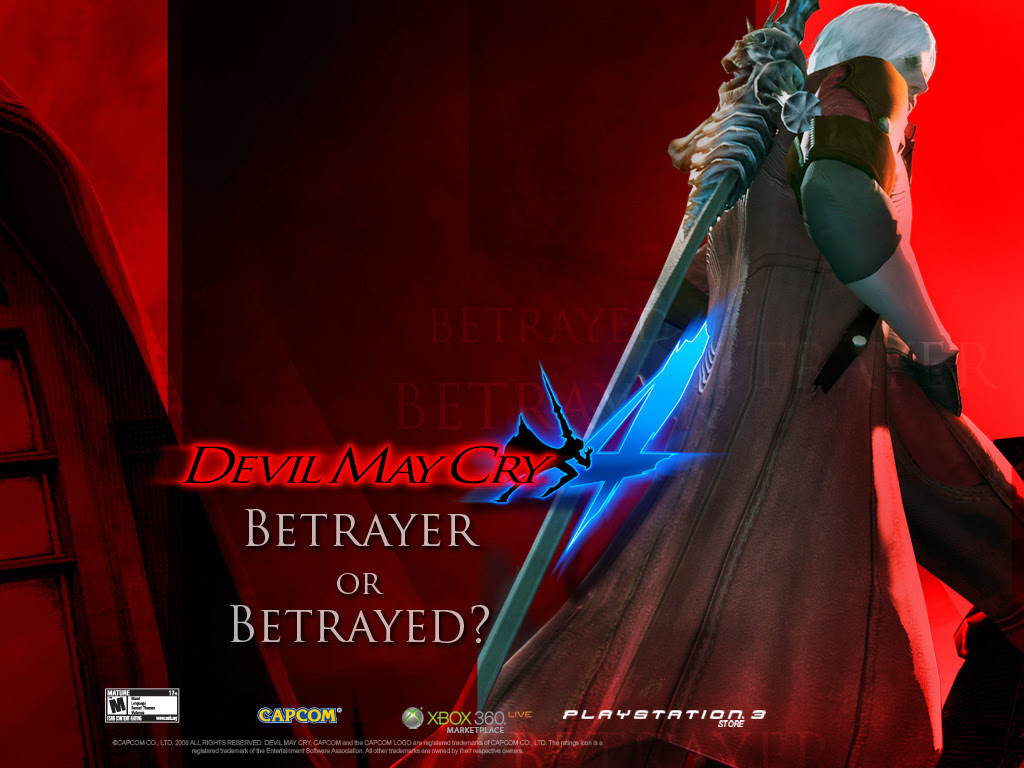 Devil May Cry 4 The Sons Of Sparda Wallpaper 10900743 Fanpop
