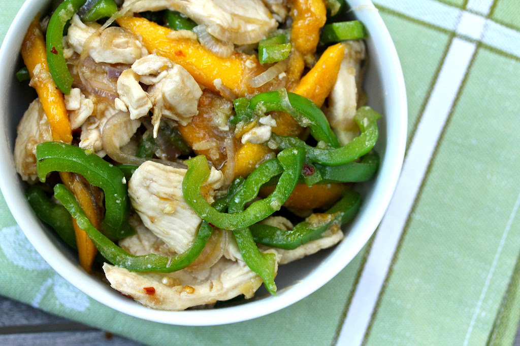 Hong Kong-Style Mango Ginger Chicken | Wok Wednesdays