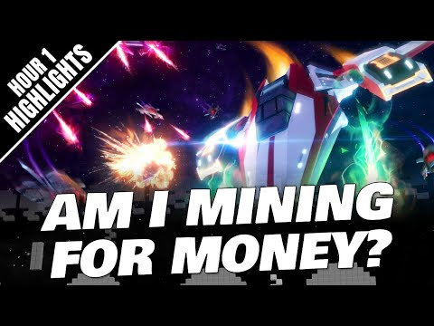 AM I MINING FOR MONEY? CSC: SPACE MMO Gameplay (Hour 1 Highlights)