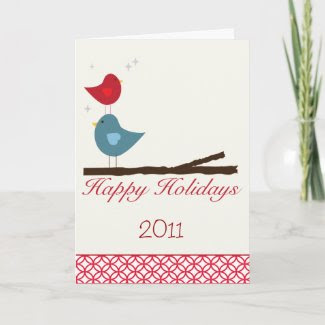 Happy Holidays Greeting Card card