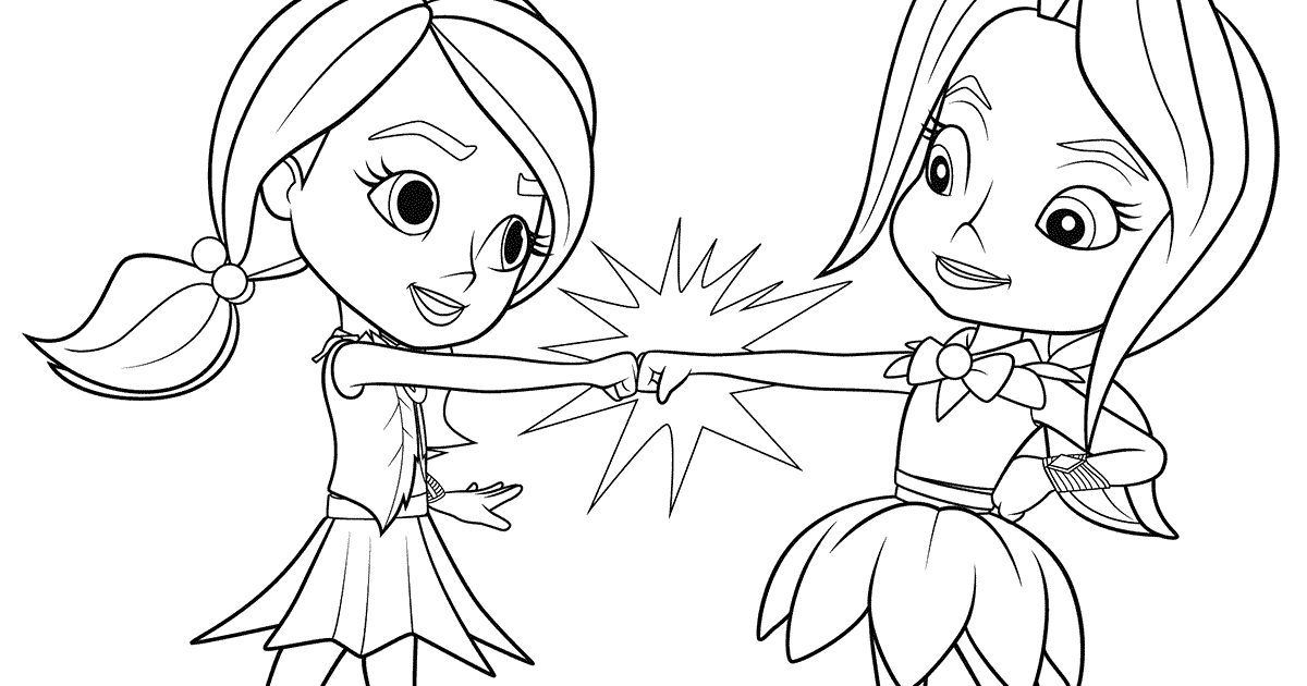 91 Tutorial Rainbow Rangers Coloring Page With Video And