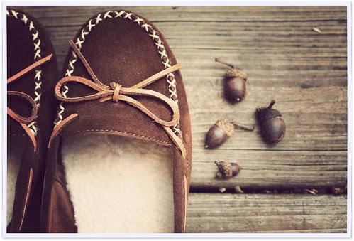 autumn shoes.