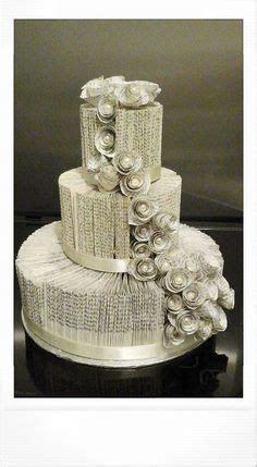 3 Stufe Buch Falte Hochzeitstorte/Buch Falten von