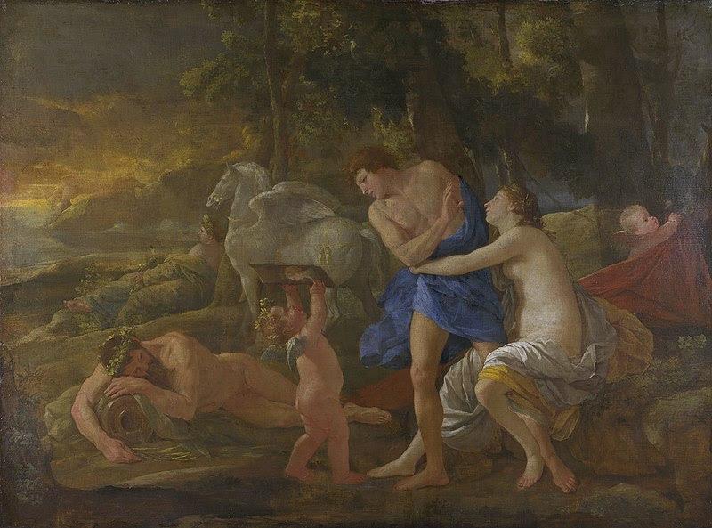 Nicolas Poussin ~ Representante do classicismo francês