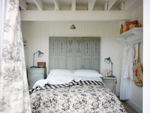 Dreamy Chic Beach Cottage Bedroom Interior Design Photos | Live Love in the Home