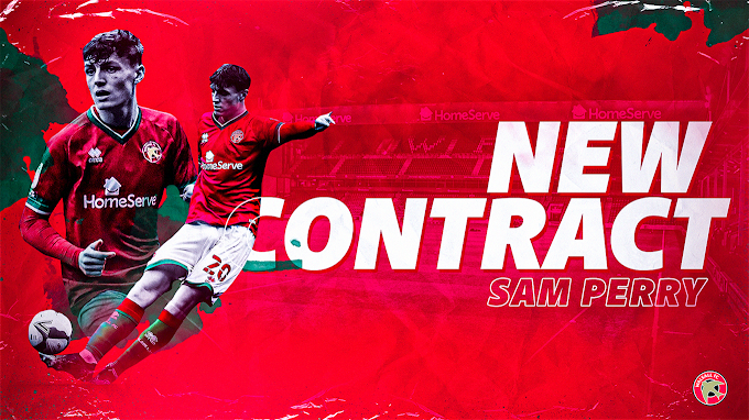Sam Perry Signs New Walsall Deal