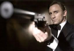 Daniel Craig as the next Bond.