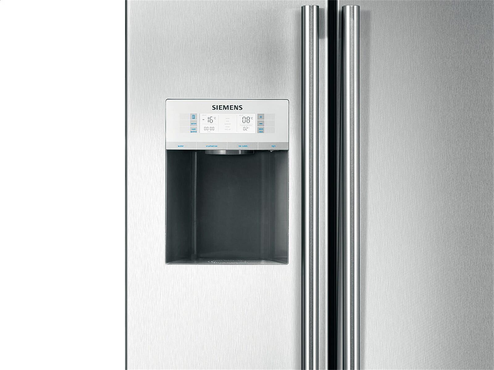 Side By Side Kühlschrank Siemens : Siemens kühlschrank edelstahl side by side tobin bonnie