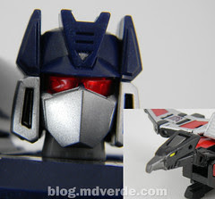 Transformers Soundwave & Laserbeak Masterpiece - modo robot