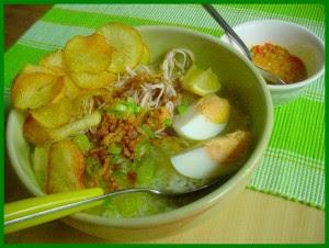 Resep soto ayam lamongan