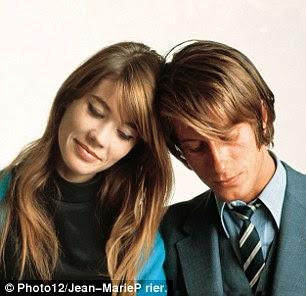 com o marido Jacques Dutronc (1967)