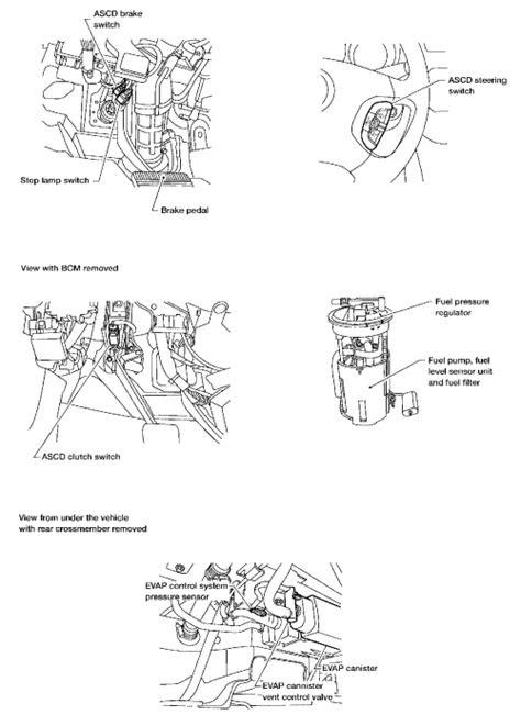 | Repair Guides | Component Locations | 2.5l (qr25de) I4
