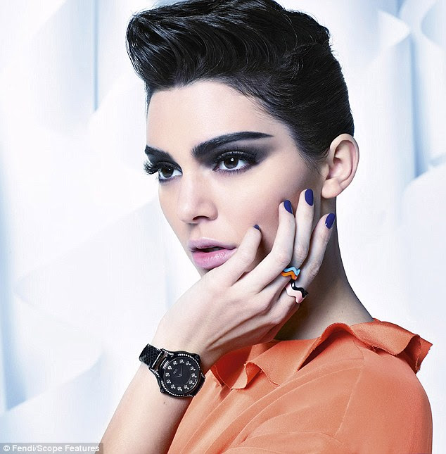 One-woman show: Kendall Jenner stars in latest Fendi fashion campaign