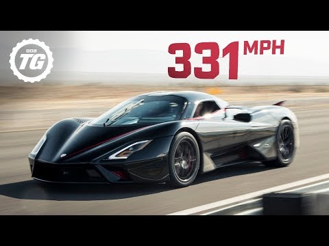 New serial car speed record (VIDEO)
