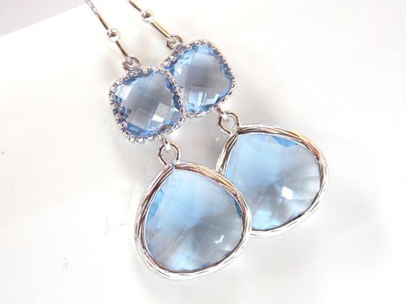 Resultado de imagen para bridal blue jewelry