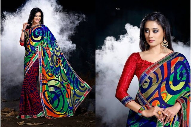 Womens-Girl-Wear-Beautiful-Sari-New-Fashion-Color-Printed-Saris-by-Prerna-Poly-Georgette-Sarees-3