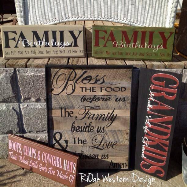 RiOak Design rustic by  on  Signs Rustic  western Western signs Pinterest Pin RiOak Sells