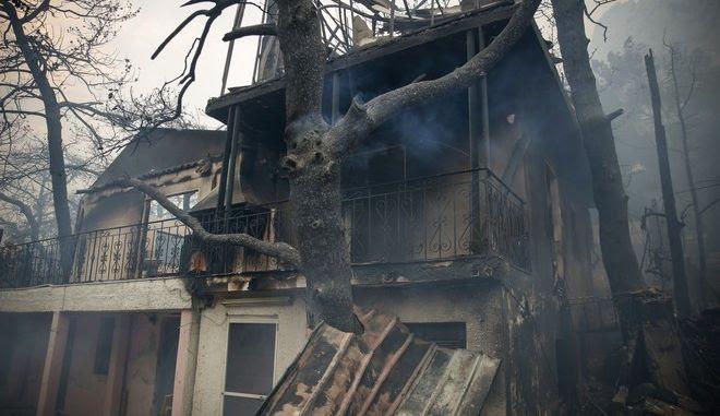 Kαμένο σπίτι στην Κινέτα