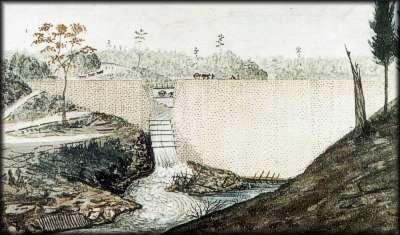 Jones Falls Dam - 1831