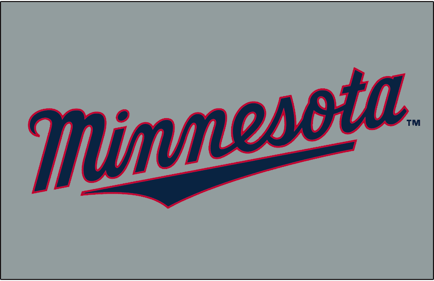 Minnesota Twins Jersey Logo - American League (AL) - Chris ...